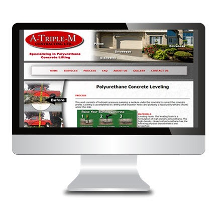 central alberta web development client portfolio websites 205